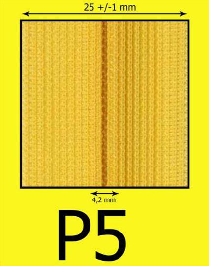 P5 krytý zips (zdrhovadlo)